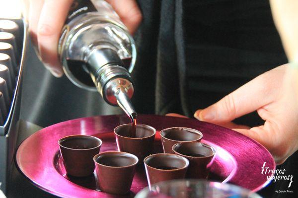 cherry liquor from Slovenia Berryshka