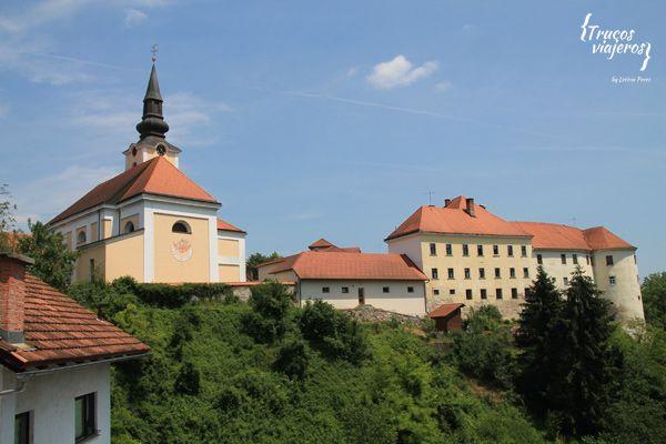 Slovenian town Metlika
