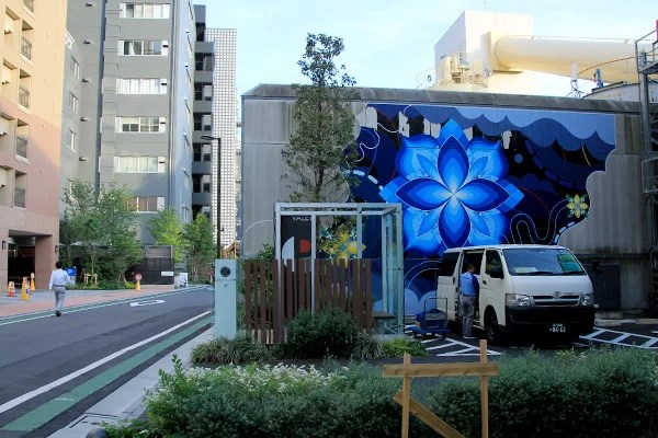 Murales Pow Wow Tokio