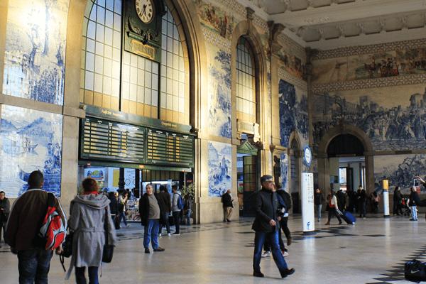 Estación de Oporto San Bento