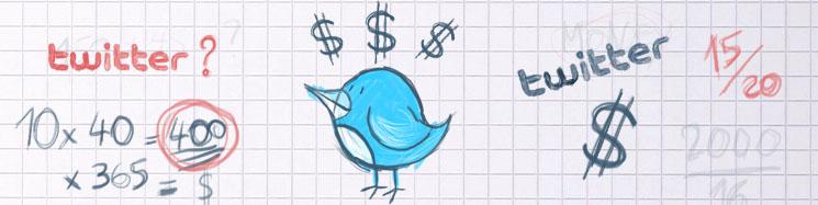 trucs de blogueuse - tweet sponsorise 2