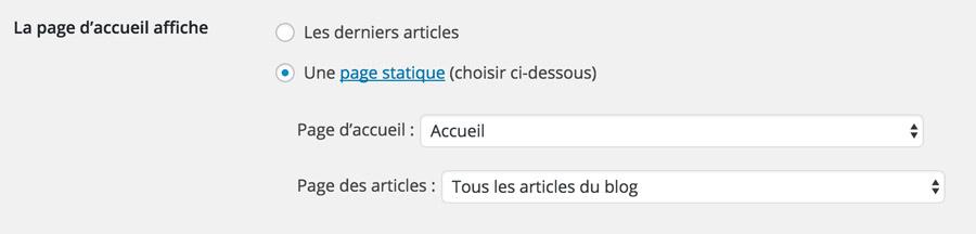 trucs-de-bogueuse-page-accueil-wordpress-reglages