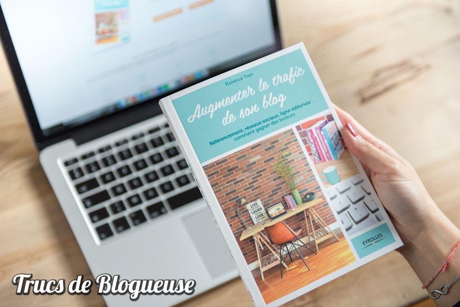 Augmenter le trafic de son blog, le livre enfin dans mes mains !