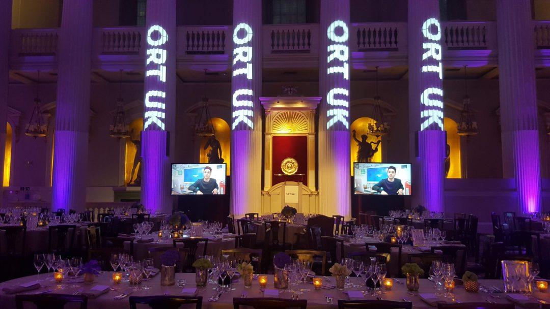 Gala caritatif pour ORT UK, Londres.