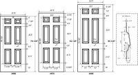 Door Dimentions & Door Dimensions \u0026 Standard Outside ...