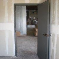 Flush Commercial Hollow Metal Doors, Industrial Steel Doors