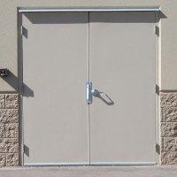 Commercial Steel Double Doors | Hollow Metal Door Pair