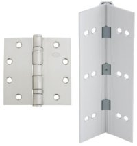 Commercial Door Hinges, Butt and Continuous Hinges