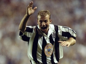 Alan Shearer of Newcastle United