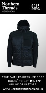 CP Company Quilted Soft Shell Hooded Jacket - Black