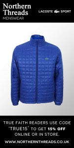 Lacoste Sport Zip Through Quilted Jacket - Monaco Blue