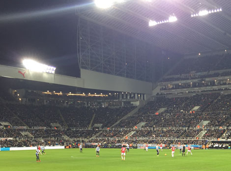 St James Park Newcastle United v Manchester United, 12th January 2016