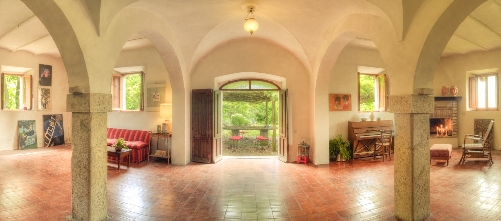 Villa Pettirosso in Umbria - Living