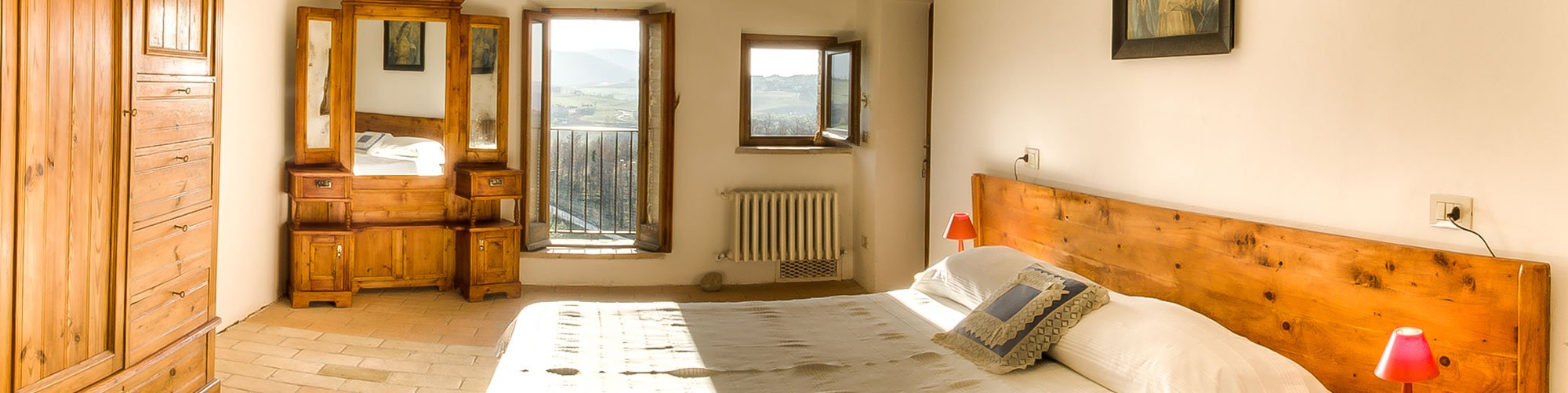 Villa Pianeante in Umbria - Bedroom