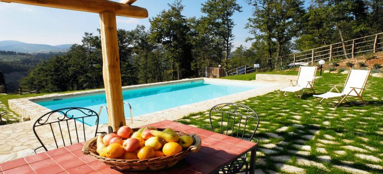 Villa Cipresso in Umbria - Swimming Pool