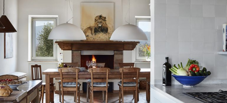Villa Campo Rinaldo in Umbria - Living