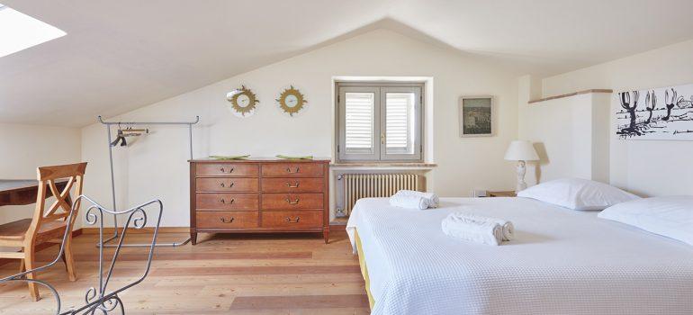 Villa Campo Rinaldo in Umbria - Bedroom