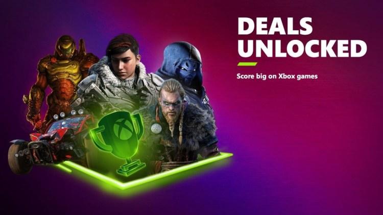 Xbox Deals Unlocked sale E3 2021
