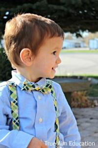 Every Little Boy Needs Suspenders | True Aim