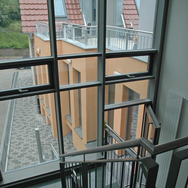 PfostenRiegelFassade  Trb Fensterbau GmbH
