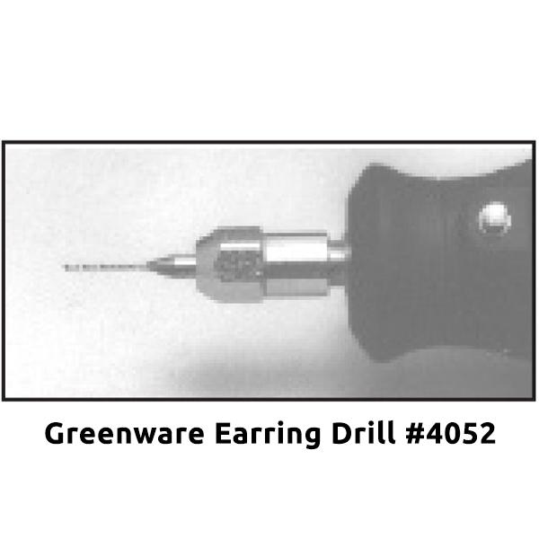 Greenware Earring Drill