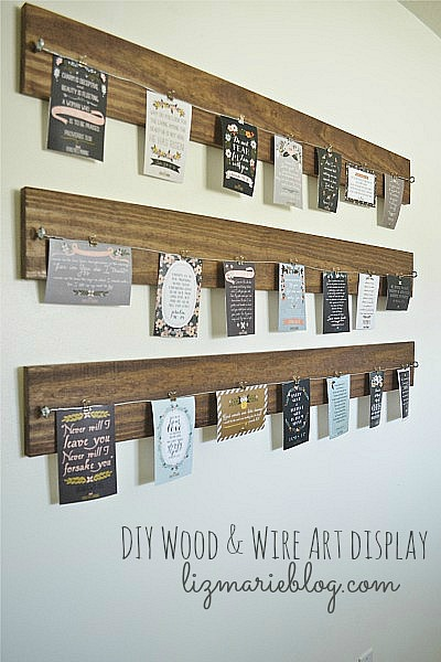 5 Creative Ways to Display Printable Wall Art