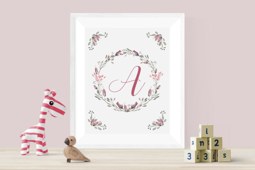 A to Z free alphabet letters printables