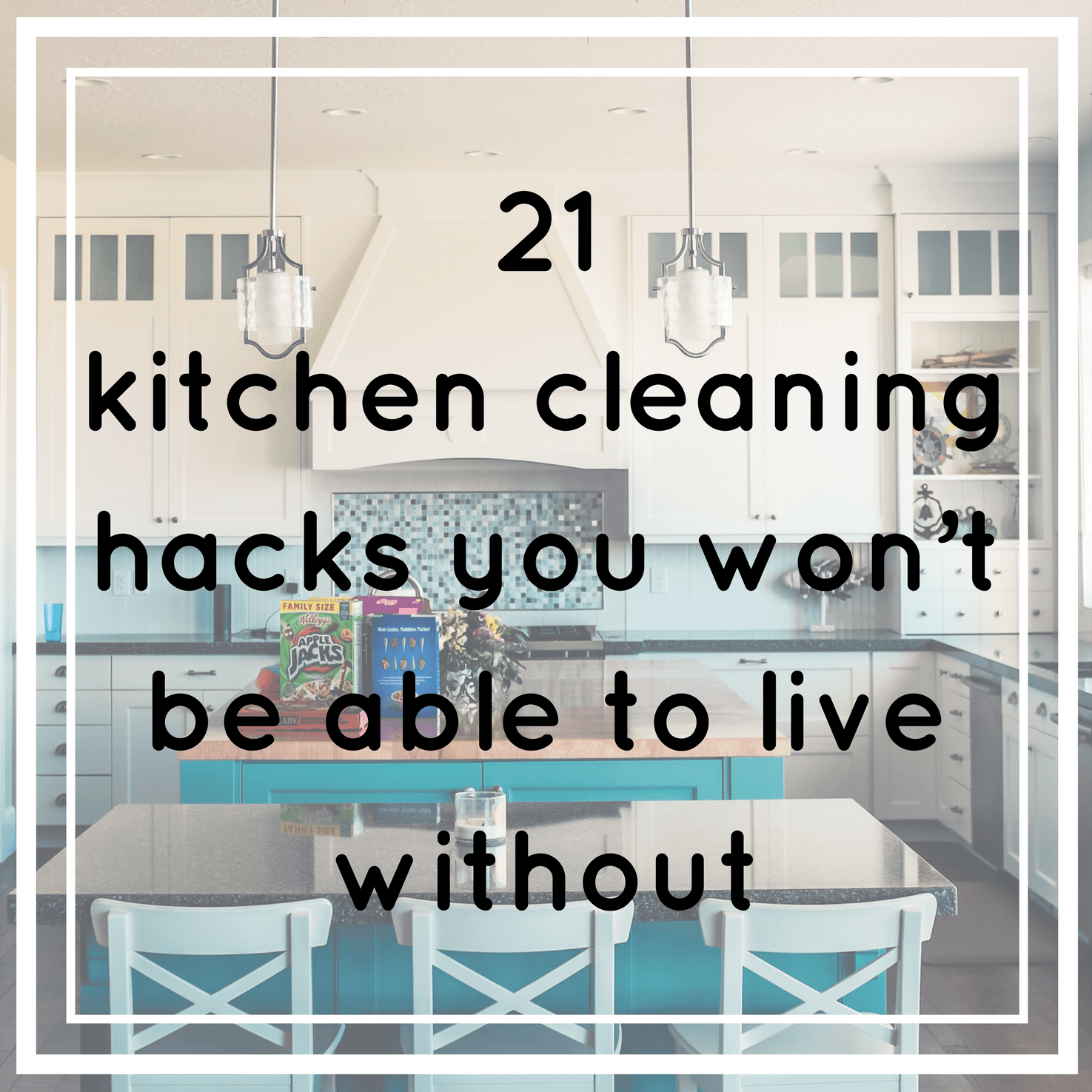 Cleaning the kitchen shouldn't be hard work. You can have your kitchen gleaming in no time and with a minimal amount of effort if you follow these hacks.
