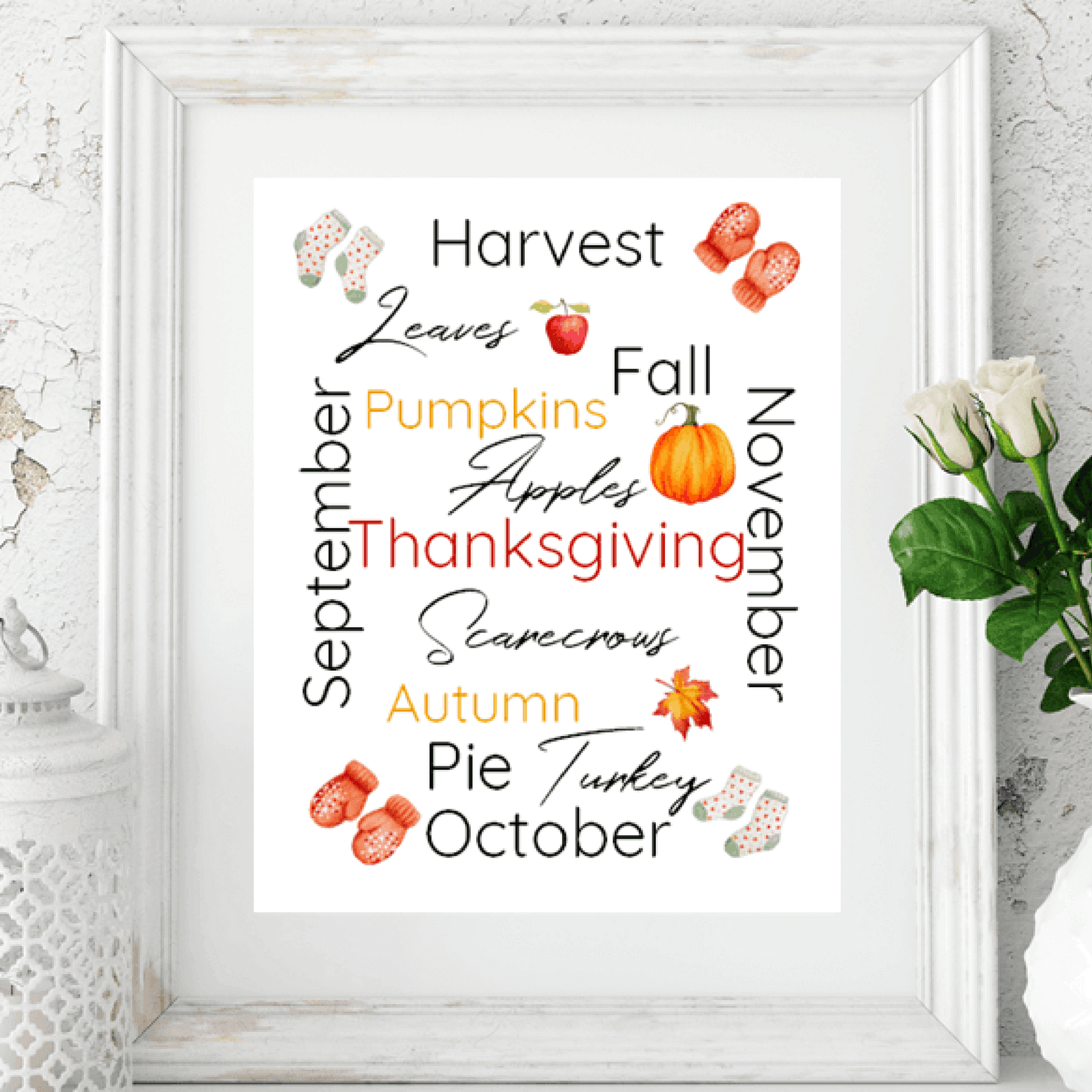 Printable for Autumn/Fall