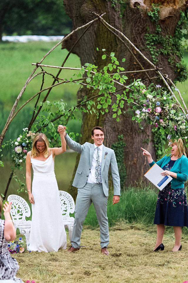 Joanna Nicole wedding photography celebrant katie keen true blue ceremonies independent celebrant humanist woodland wedding blessing kent sussex surrey london garden marquee tipi hambleton house