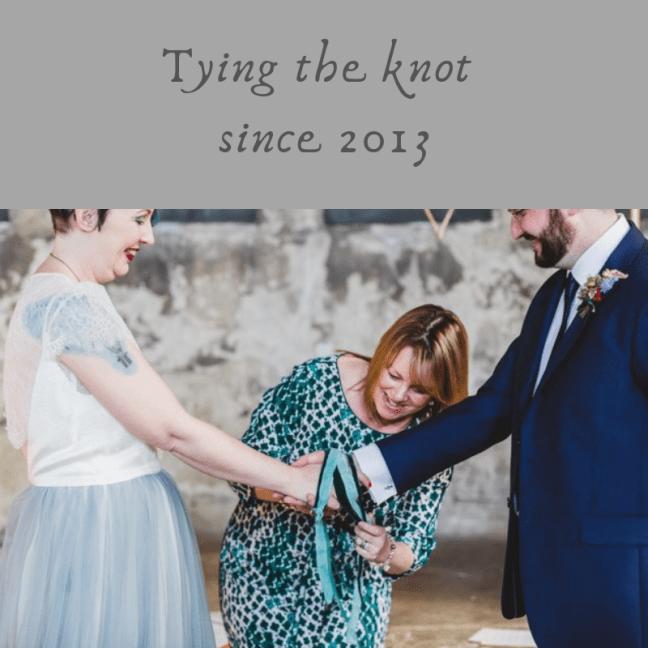 Katie Keen True Blue Ceremonies Independent Wedding Celebrant Kent Humanist Celebrant Handfasting Vow Renewal Ceremony Cristina Rossi Photography