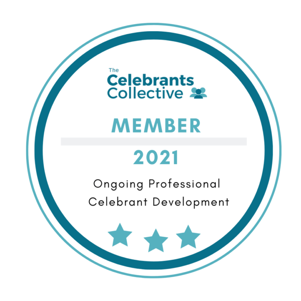 The Celebrants Collective 2021 Membership Katie Keen True Blue Ceremonies Ongoing Professional Celebrant Development