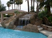 Rock Waterfall Pool Ideas | True Blue Pools