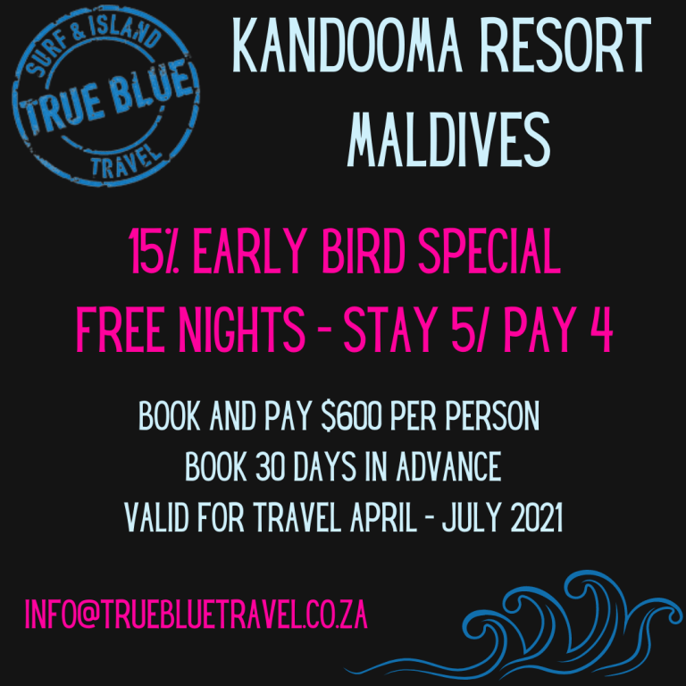 Kandooma Resort, Maldives