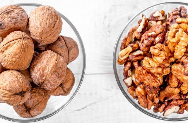 Walnuts- Good for skin and immunity