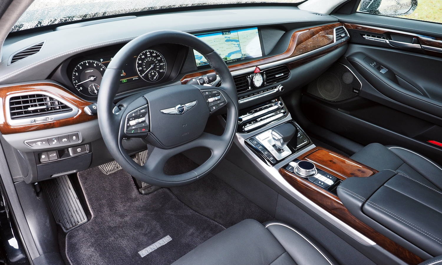 2017 Genesis G90 Pros and Cons at TrueDelta 2017 Genesis G90 Review by Michael Karesh