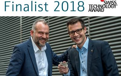 Finalist Swiss Technology Award 2018