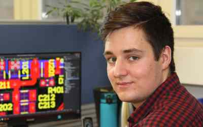 Congratulations. Joel Becker – Electronics engineer (EFZ) – best of the year
