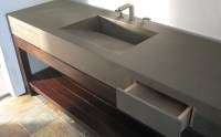 Custom Concrete Bathroom Sinks - Trueform Concrete