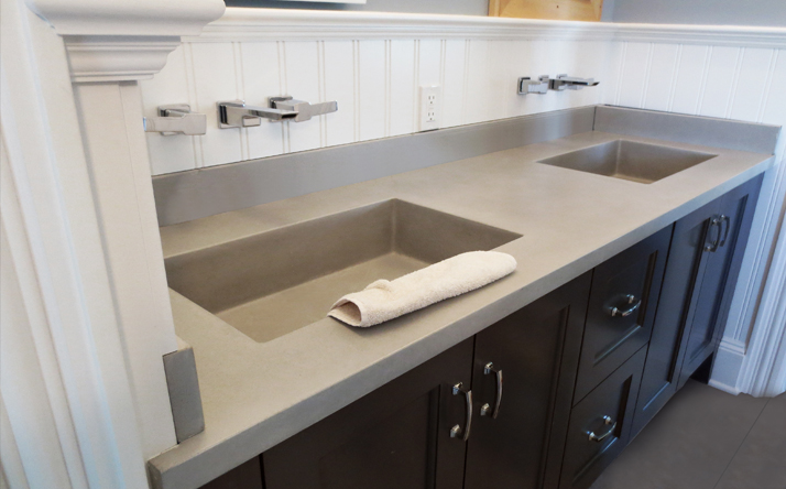 Custom Concrete Bathroom Sinks  Trueform Concrete