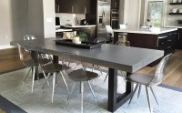 Custom Concrete Kitchen & Dining Tables