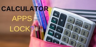 calculator apps lock