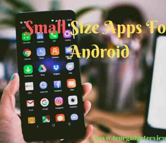 Best Small Size Apps For Android