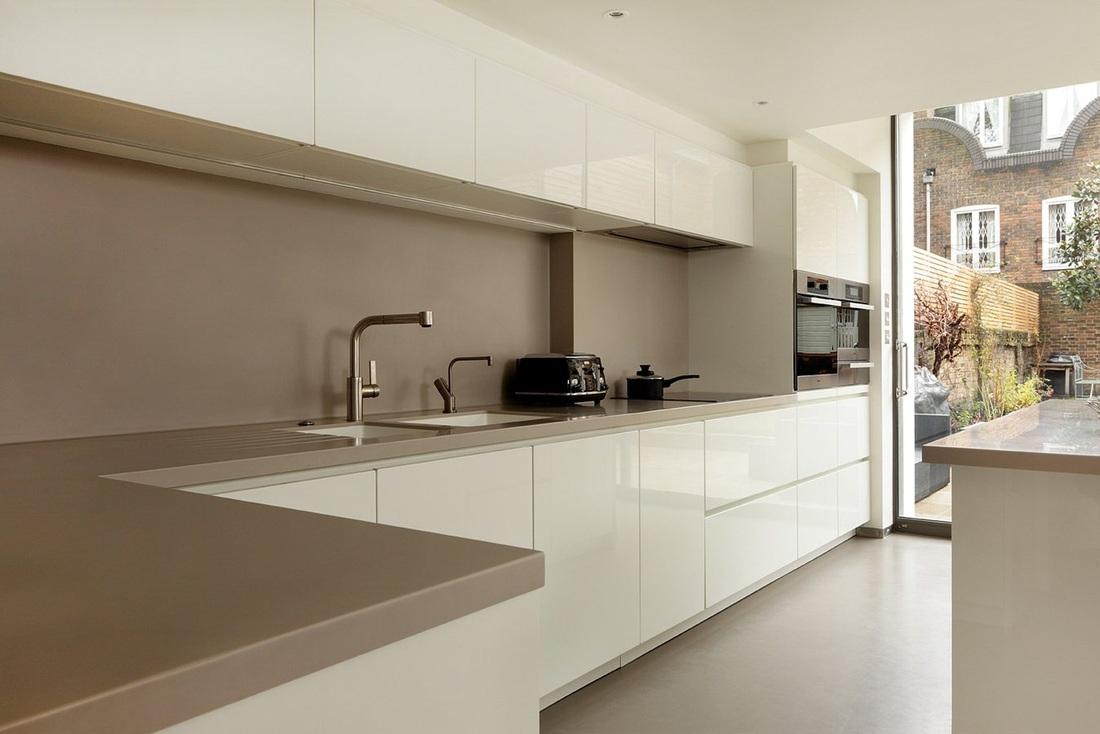 White handleless kitchens  TRUE handleless kitchenscouk