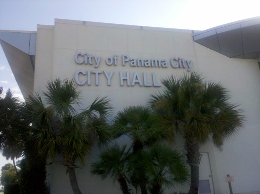 The city of Panama City city hall