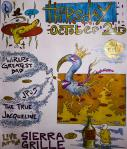 Another flier from the Sierra Grille, Northampton, MA. October, 2008.