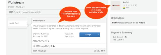 Proposal from Freelancer | Truelancer