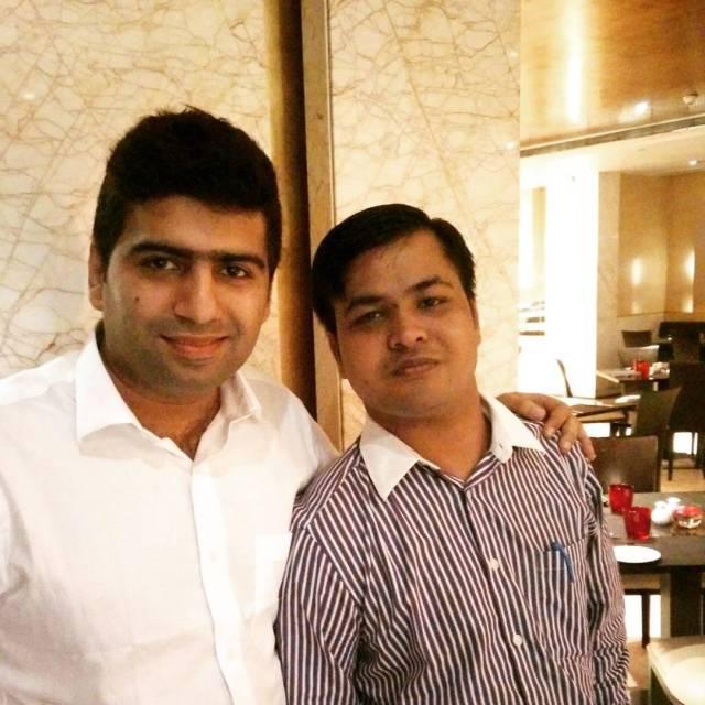 Ashwin (Domain Guru) & Dipesh (Truelancer)