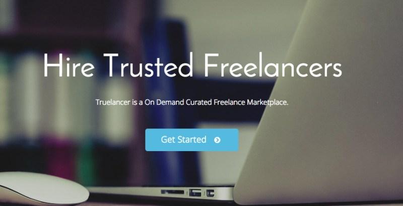 outsource website development via Truelancer