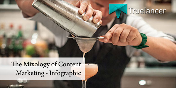 The Mixology of Content Marketing - Infographic Featured